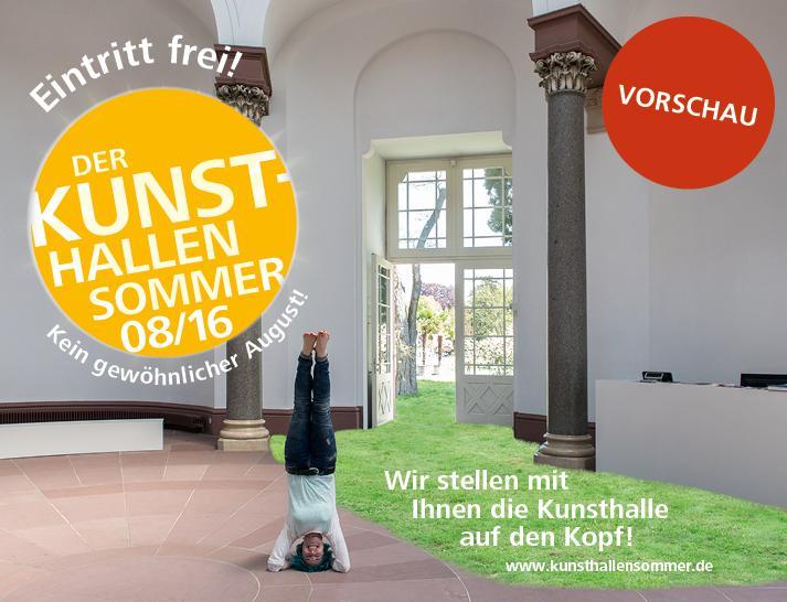 Kunsthalle Karlsruhe, ein Sommer samt Märchen.