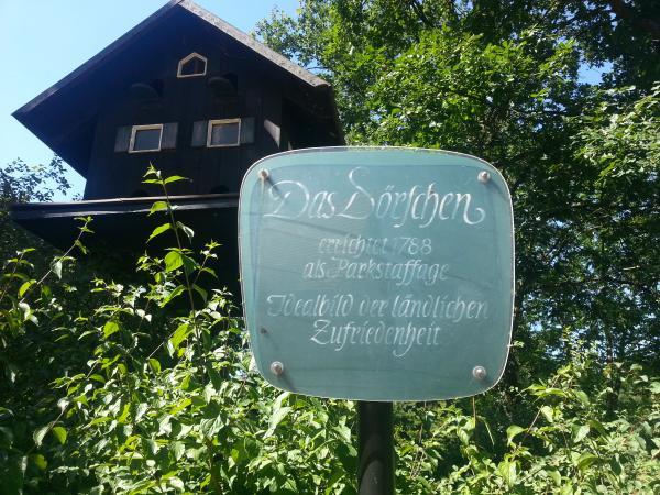 """1778 """"Das Idealbild ländlicher Zufriedenheit"""" Park Schönbusch Aschaffenburg"""