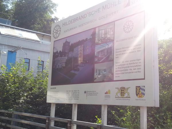 Hildebrandsche Mühle, Bauankündigung.