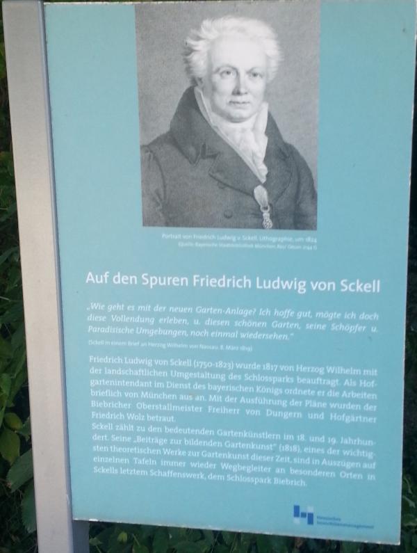 Noch ein Sckell-Park. Wiesbaden-Biebrich