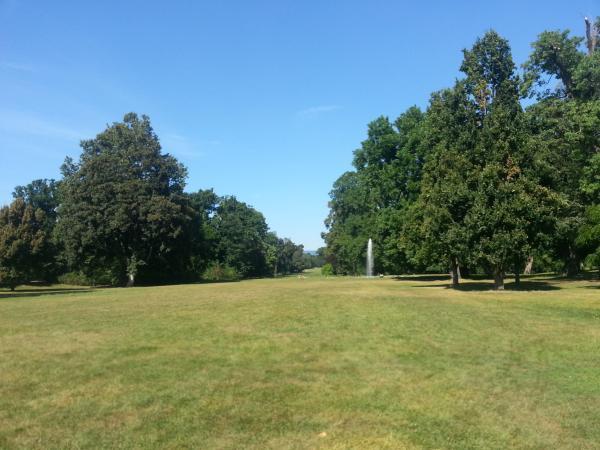 Das Wiesental im Schlosspark Wiesbaden-Biebrich