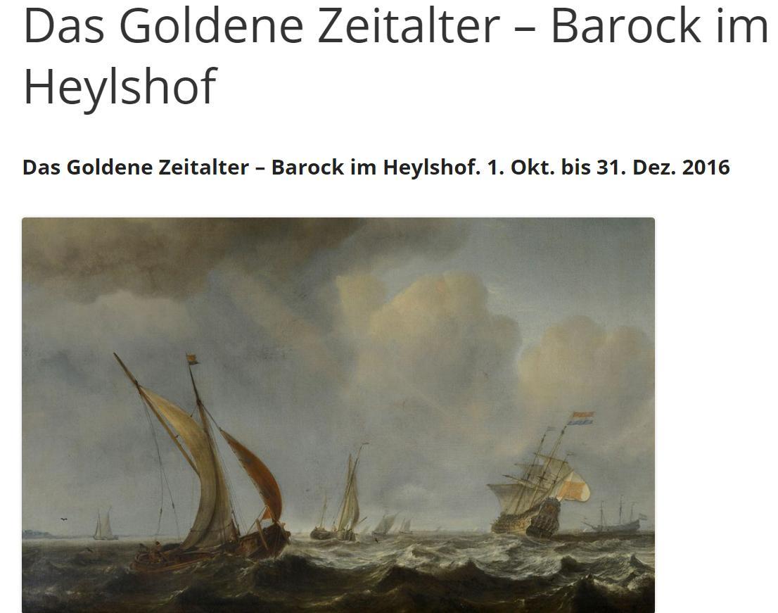 "Screenshot ""Das goldene Zeitalter des Barock. "" (Klick)"