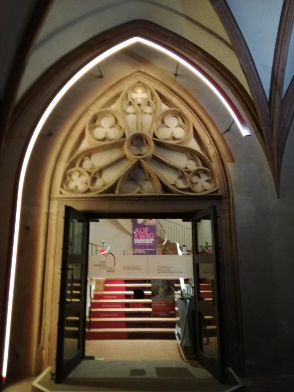 Eingang Dommuseum Mainz