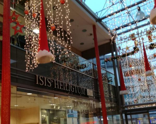 Eingang zum Isis Heiligtum in der Römerpassage Mainz