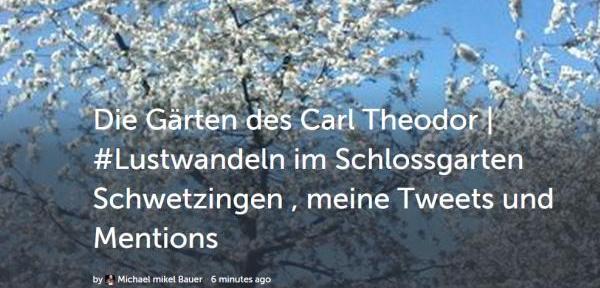 Im Garten des Carl Theodor in #schwetzingen #lustwandelt.