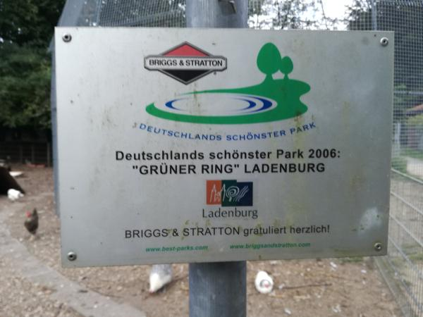 Der schönste Park Deutschlands! Ladenburg, mon amie.