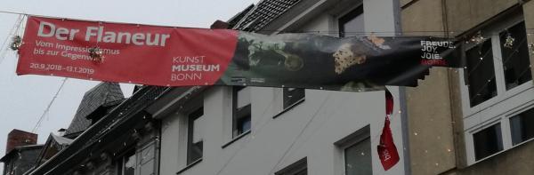 Durch BeHausungen und Museen flanieren in Bonn, eine erträumte Reise.