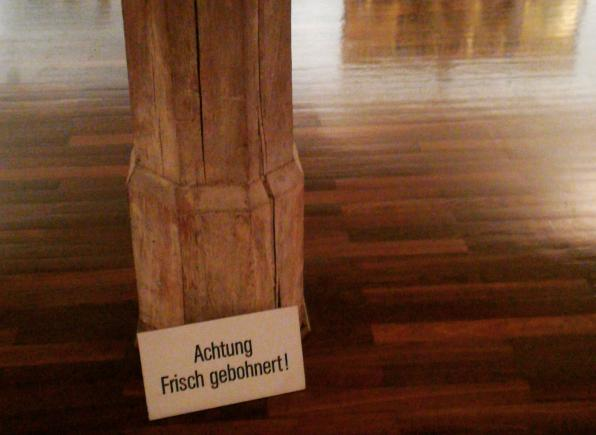 Kurfürsten, Kirchner, Cranach, alles frisch gebohnert
